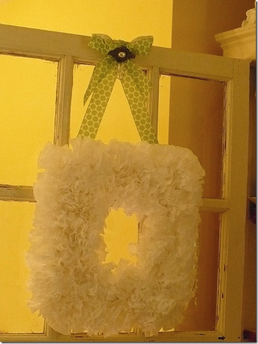 How To Make A Coffee Filter Wreath A Cultivated Nest